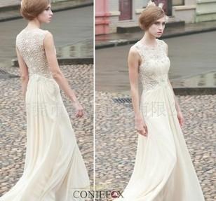 80551实物拍摄高档欧式礼服 新娘